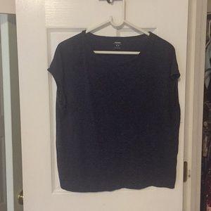 Oversized navy t-shirt